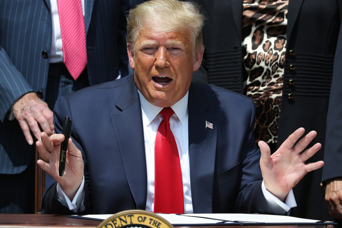 Trump signs new Paycheck Protection Program bill into law but warns proxy voting by House may make it 'unconstitutional'