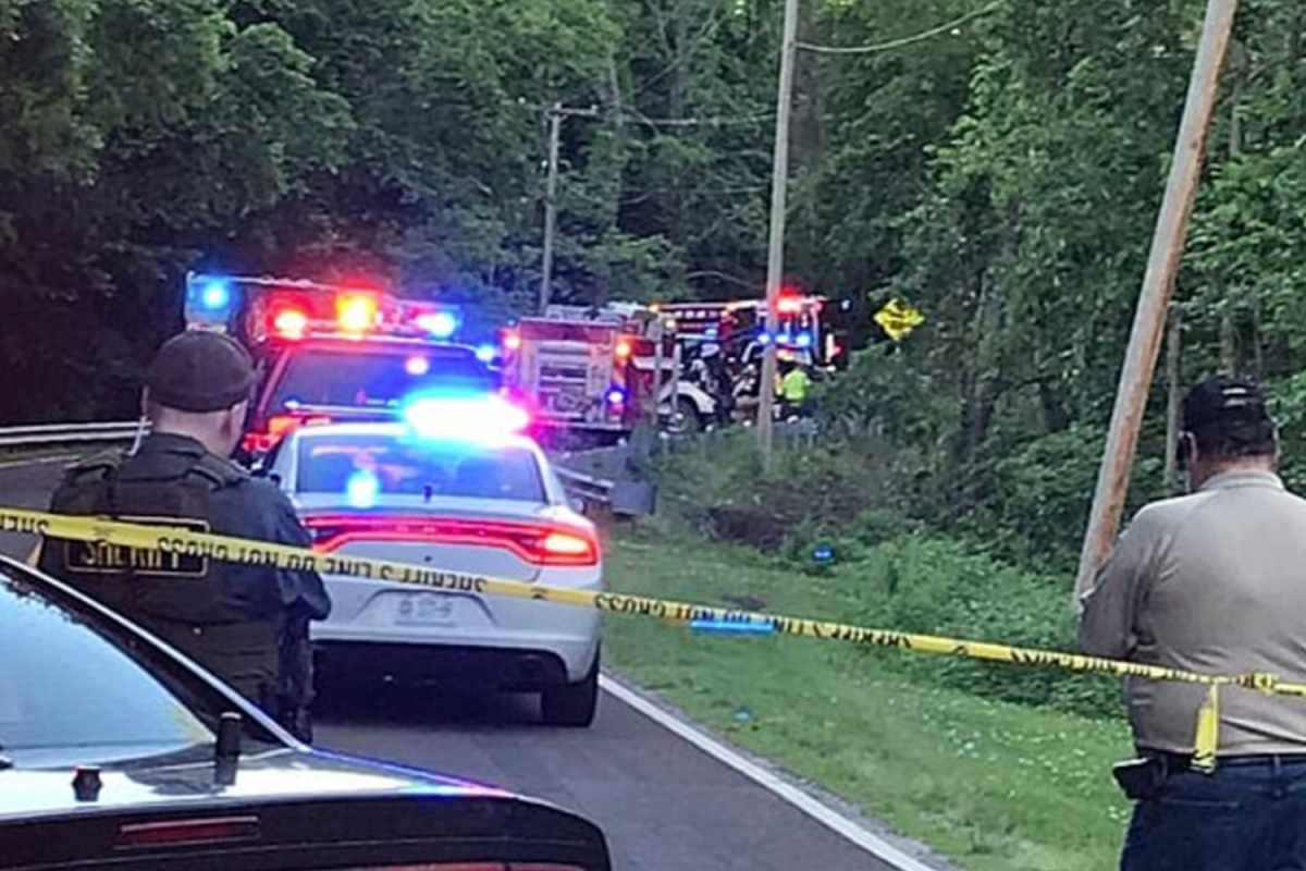 Two brothers, 6 and 7, killed after stealing their grandma's car for a joyride and crashing down an embankment