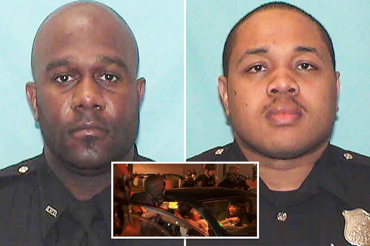 Two cops fired after bodycams caught them 'using excessive force' during George Floyd protests in Atlanta