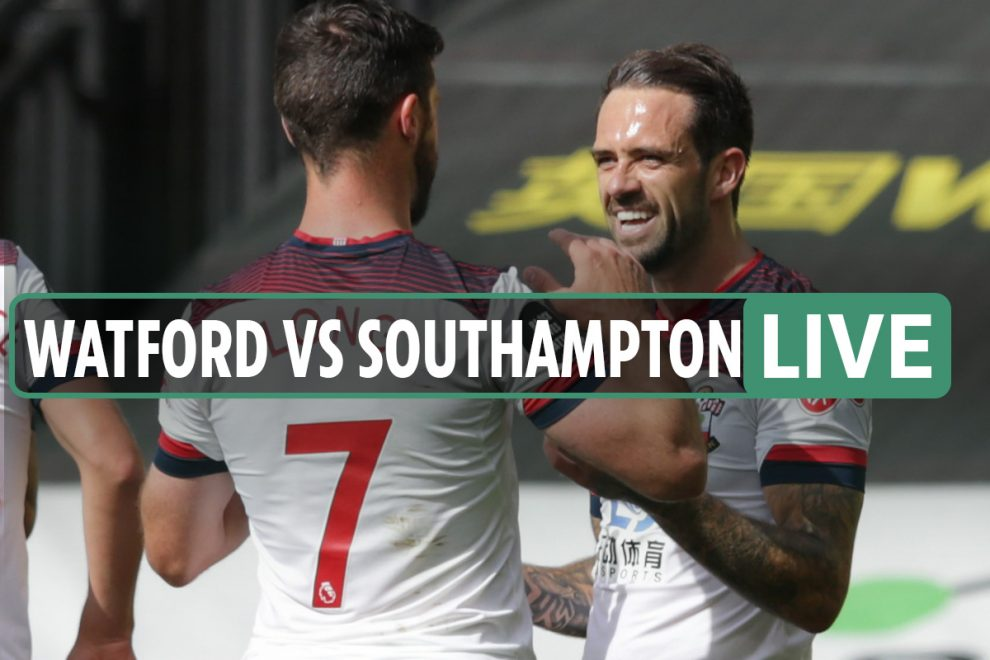 Watford 0-1 Southampton LIVE: Stream free, TV channel, teams – Ings gives Saints lead with fine finish