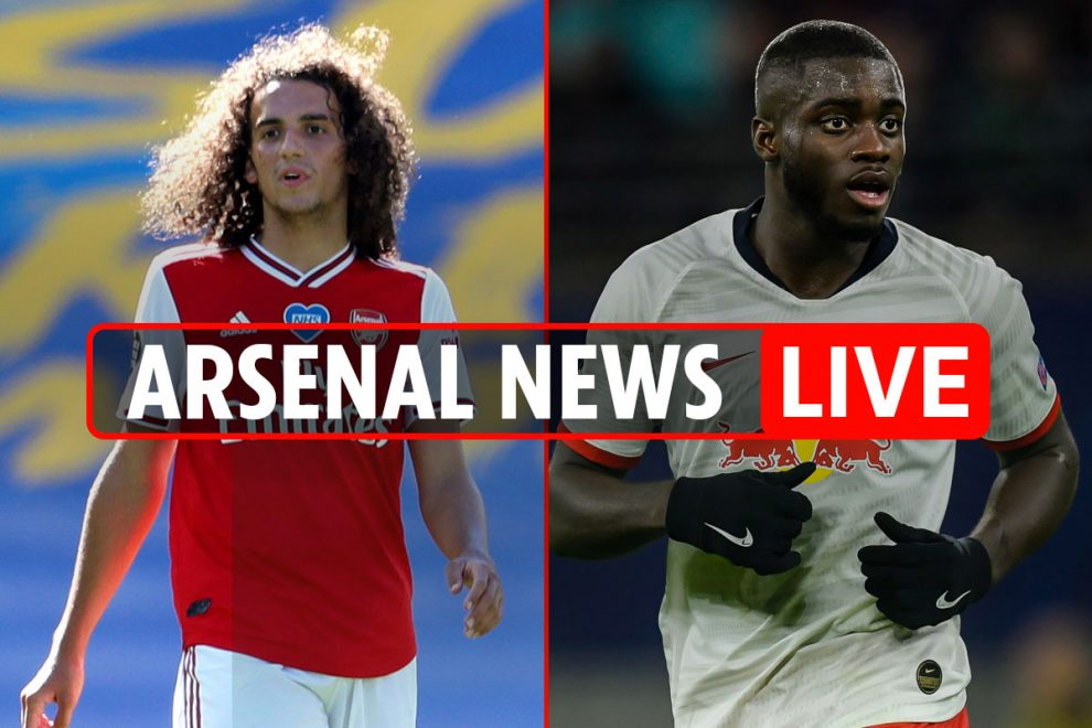 3pm Arsenal news LIVE: Upamecano cut price transfer, Guendouzi TRAINS ALONE, Partey wants quick Gunners deal