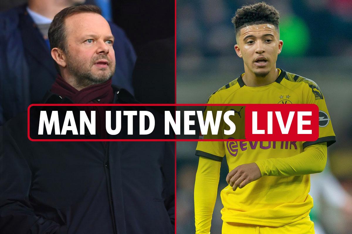 7am Man Utd news LIVE: Jadon Sancho 'agrees five-year deal', Pogba 'buzzing' to play with him, Lindelof doubt vs Villa