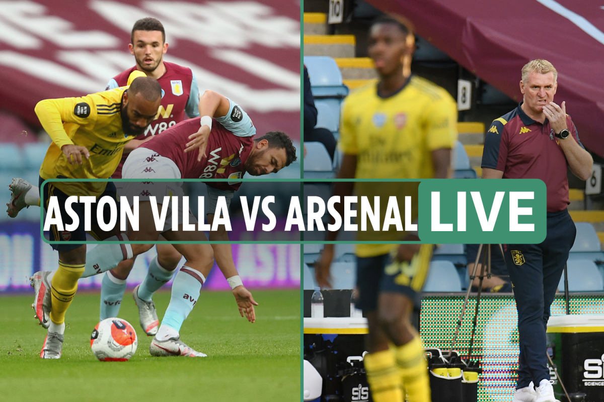 Aston Villa vs Arsenal LIVE SCORE: Trezeguet gives Villans crucial lead as they look to get out of relegation zone
