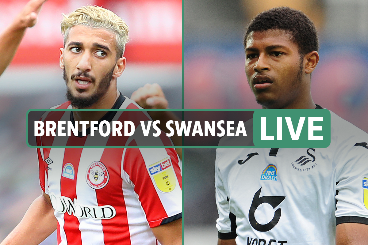 Brentford vs Swansea LIVE SCORE: Bees sting Swans with early double – stream, TV channel, Championship latest updates