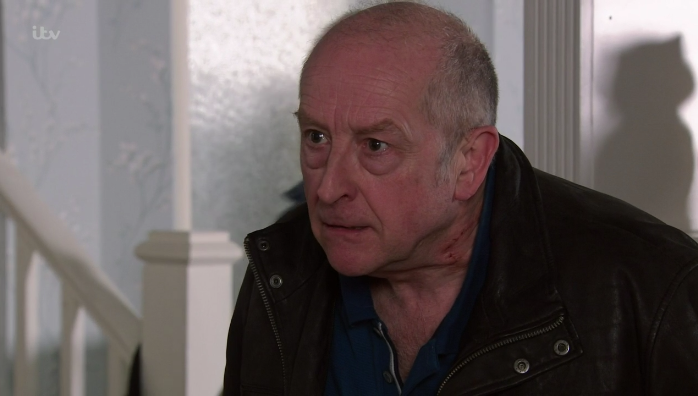 Coronation Street fans fear Geoff will murder Sally after she tells him she believes Yasmeen