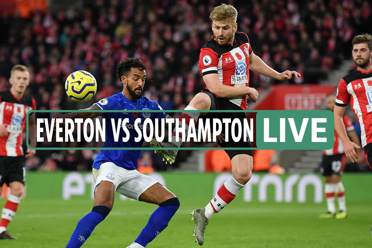 Everton vs Southampton LIVE: Stream FREE, score, TV channel as Premier League clash now UNDERWAY – latest updates