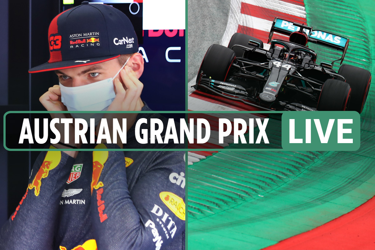 F1 Austrian Grand Prix practice LIVE RESULTS: Hamilton dominates BOTH sessions, Vettel and Verstappen disappoint