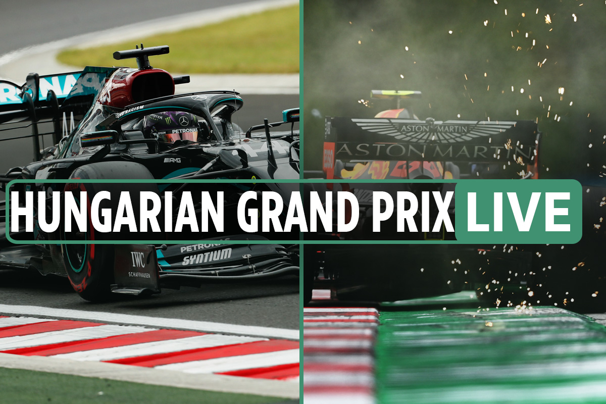 F1 Hungarian Grand Prix LIVE: Verstappen up to third, Bottas down to 6th, Hamilton leads – latest updates