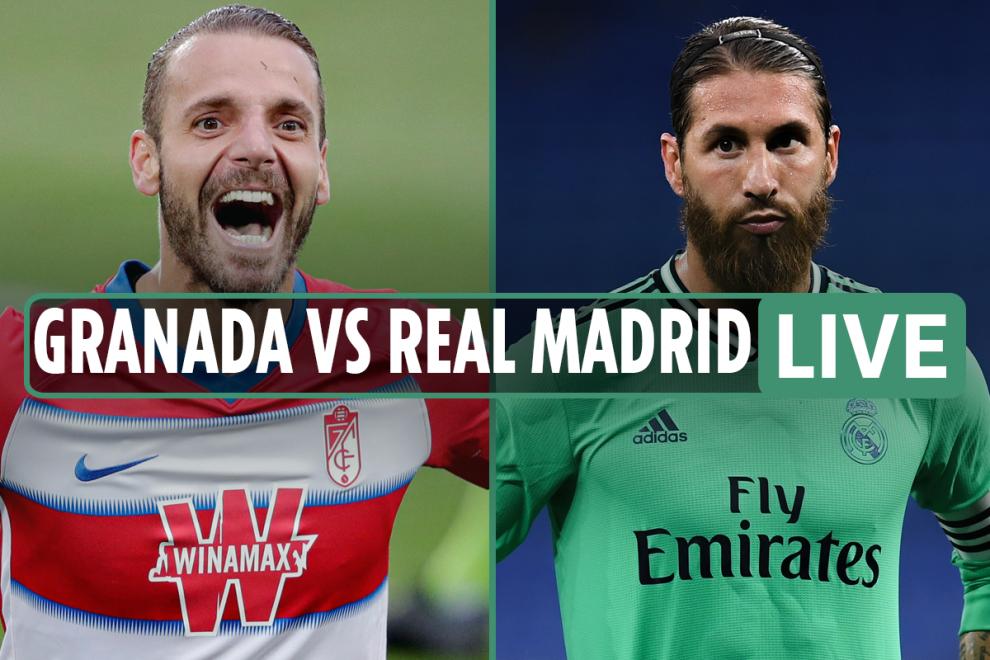 Granada vs Real Madrid LIVE SCORE: Benzema and Meny on target but Real under pressure – stream, TV, La Liga updates