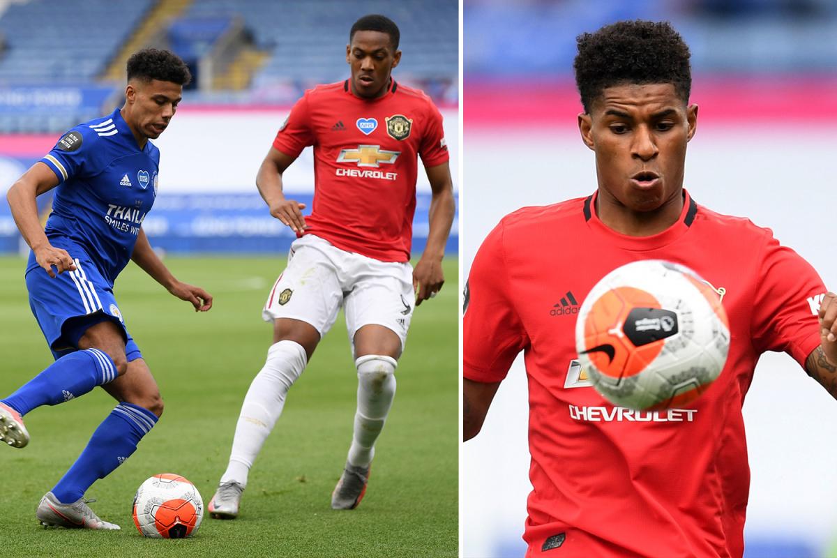 Leicester vs Man Utd LIVE: Stream, TV channel as Vardy and Rashford START in Premier League