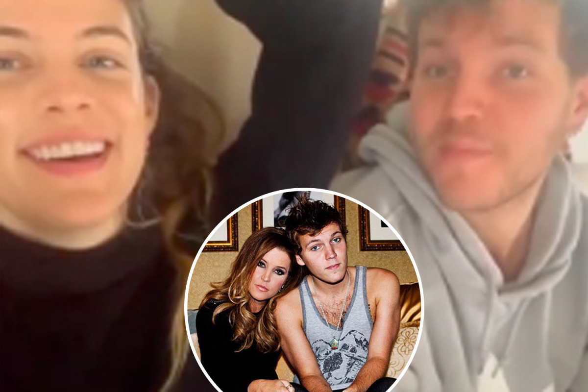 Lisa Marie Presley's daughter Riley Keough shares intimate videos of tragic brother Ben after family grieves in funeral