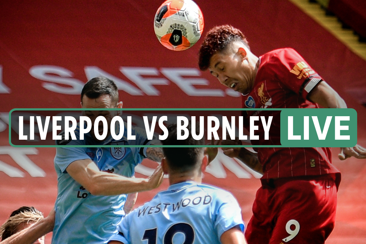 Liverpool vs Burnley LIVE: Stream free, TV channel, score and teams for Premier League match