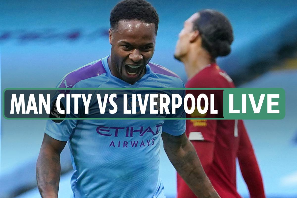 Man City vs Liverpool LIVE: Stream online, TV channel as Pep Guardiola's side hit FOUR past Klopp's Reds – Prem updates