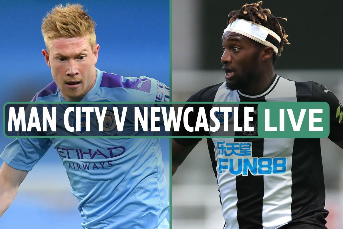 Man City vs Newcastle LIVE: Stream FREE, TV channel, team news as Foden and Mahrez START – latest Premier League updates