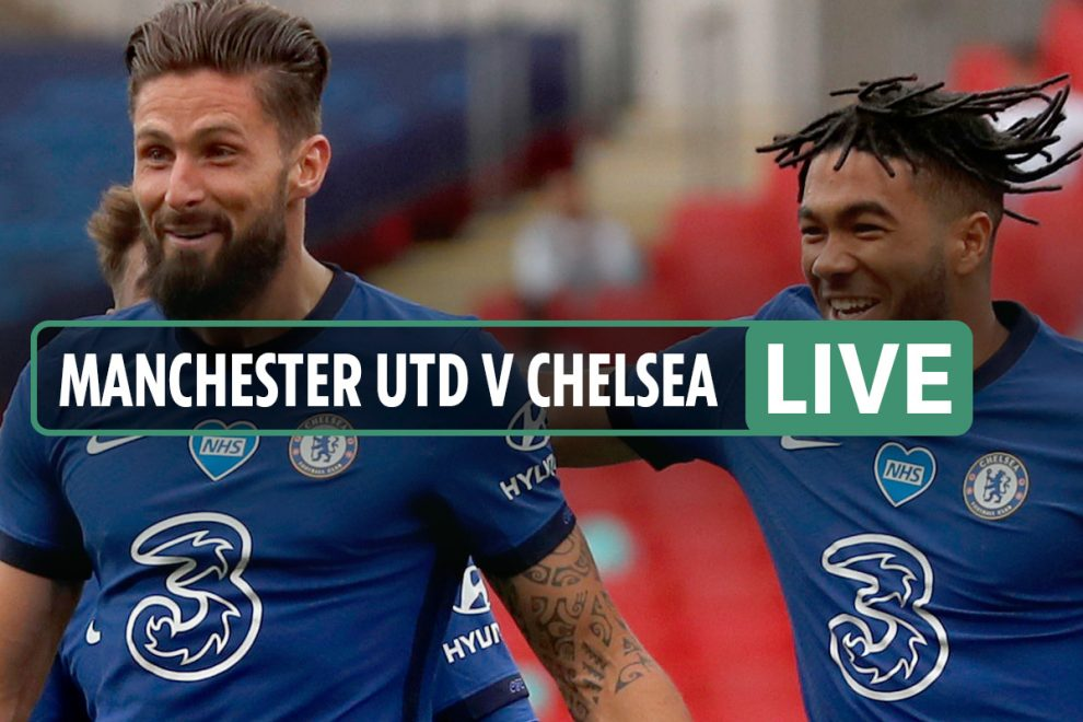 Man Utd vs Chelsea LIVE SCORE: Giroud nets after Bailly suffers serious injury – stream FREE, TV, FA Cup latest updates