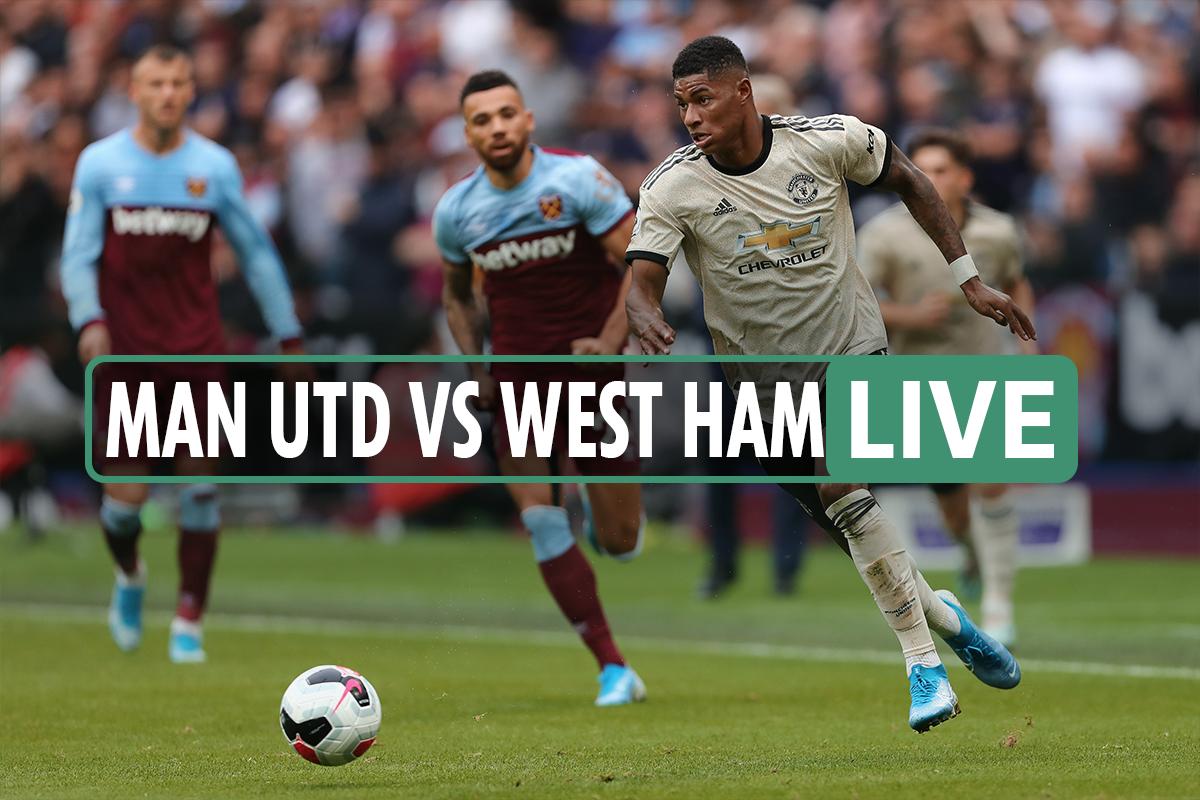 Man Utd vs West Ham LIVE: Stream, TV channel, teams, and kick-off time – De Gea and Fosu-Mensah START in Premier League