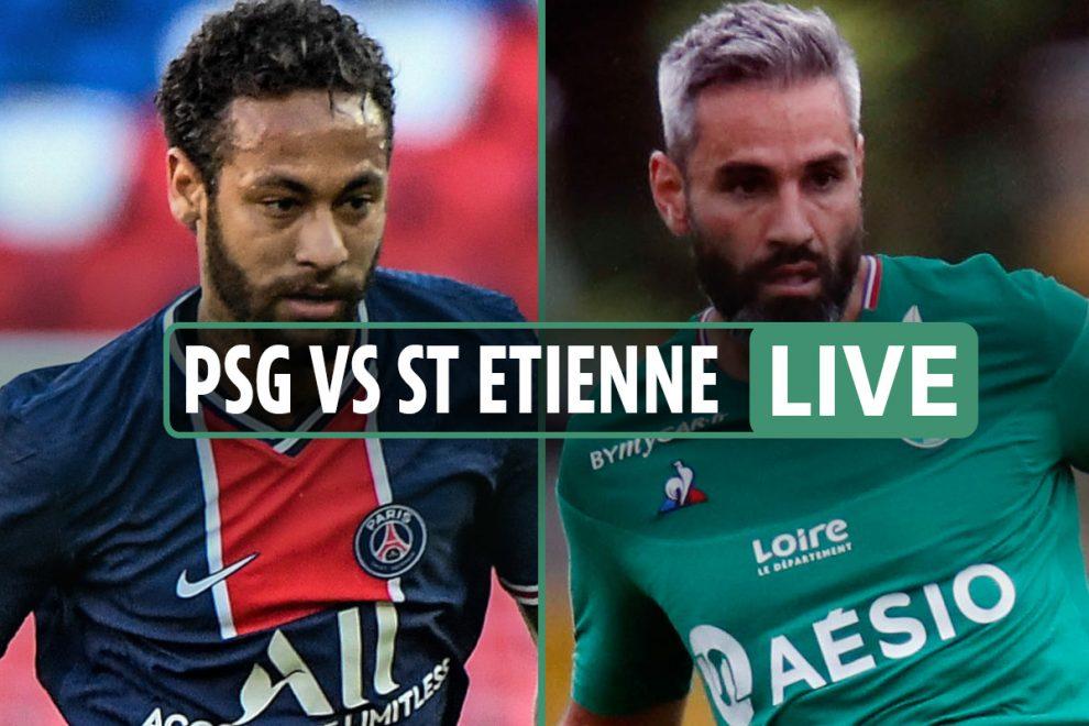 PSG vs St Etienne LIVE: Stream FREE, TV channel, teams as both Neymar and Mbappe START – Coupe de France final updates