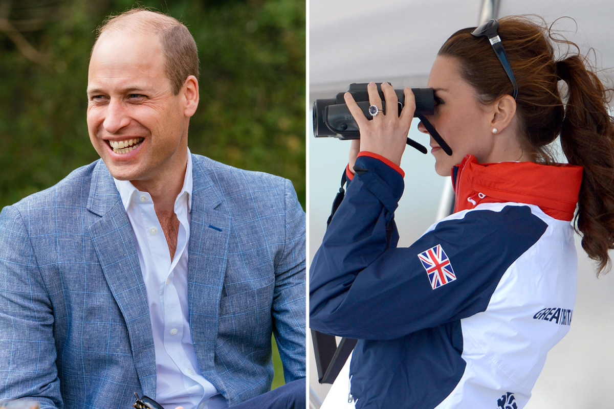 Prince William bought Kate Middleton a pair of binoculars as a 'romantic' gift