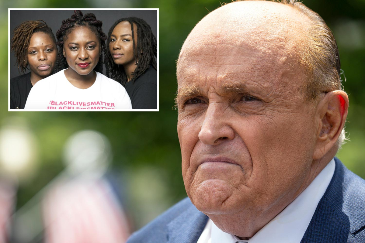 Rudy Giuliani calls Black Lives Matter a 'Marxist organization' that's trying to 'destroy the police'