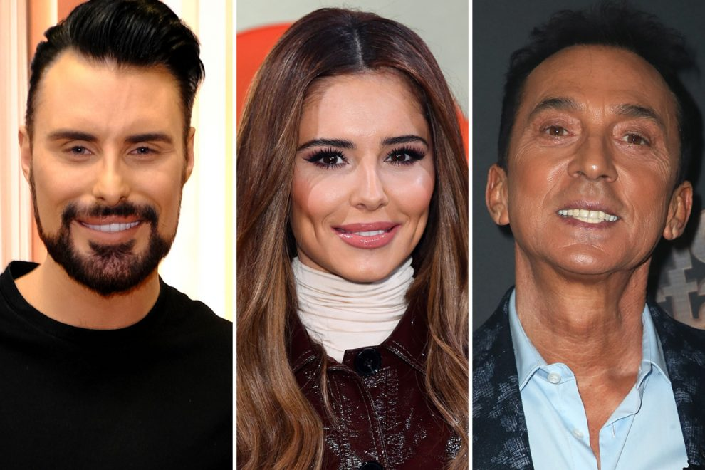 Strictly host Rylan Clark-Neal says Cheryl should replace Bruno Tonioli as a judge