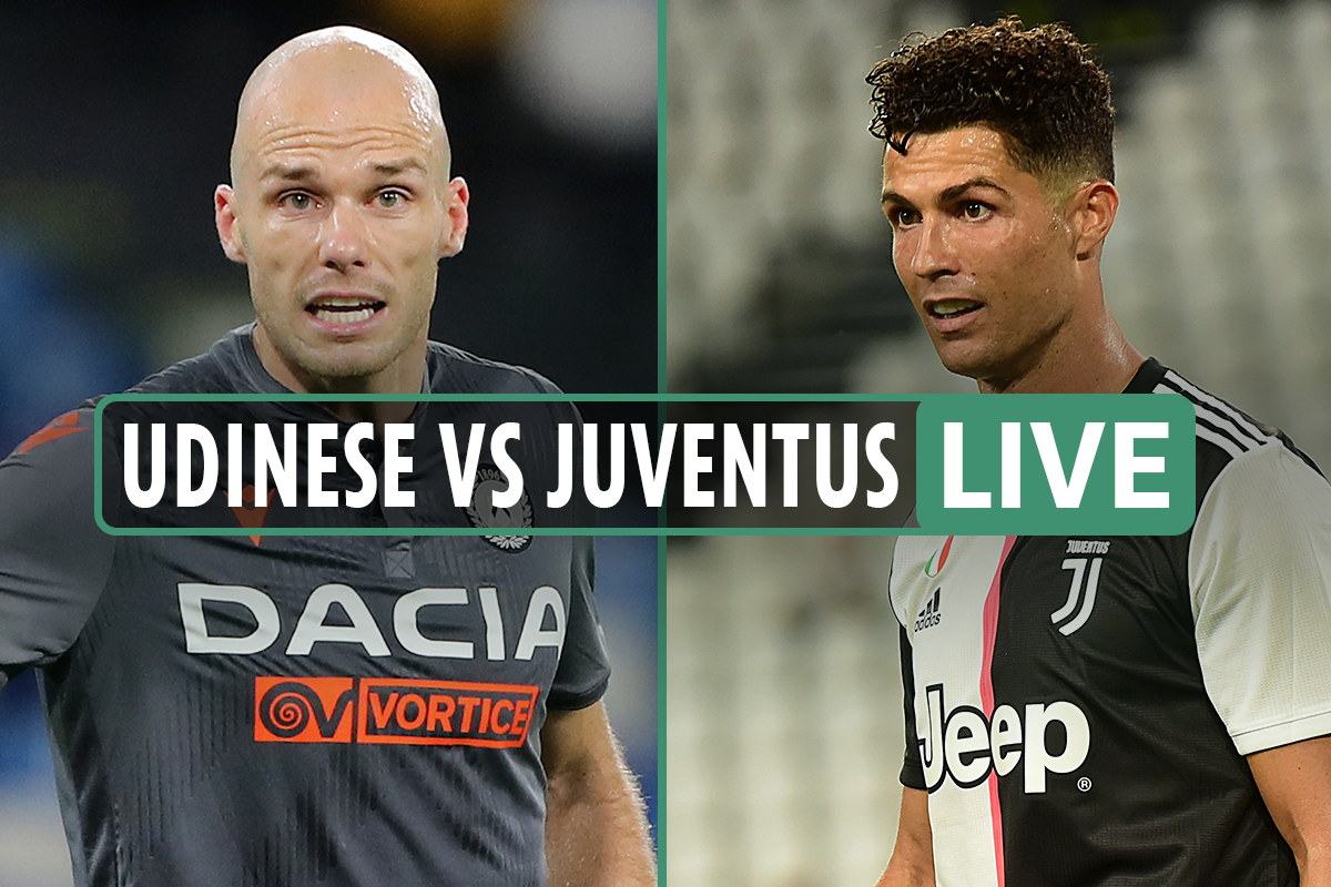 Udinese vs Juventus LIVE: Stream, score, TV channel as Juve can win Serie A title TONIGHT – latest updates