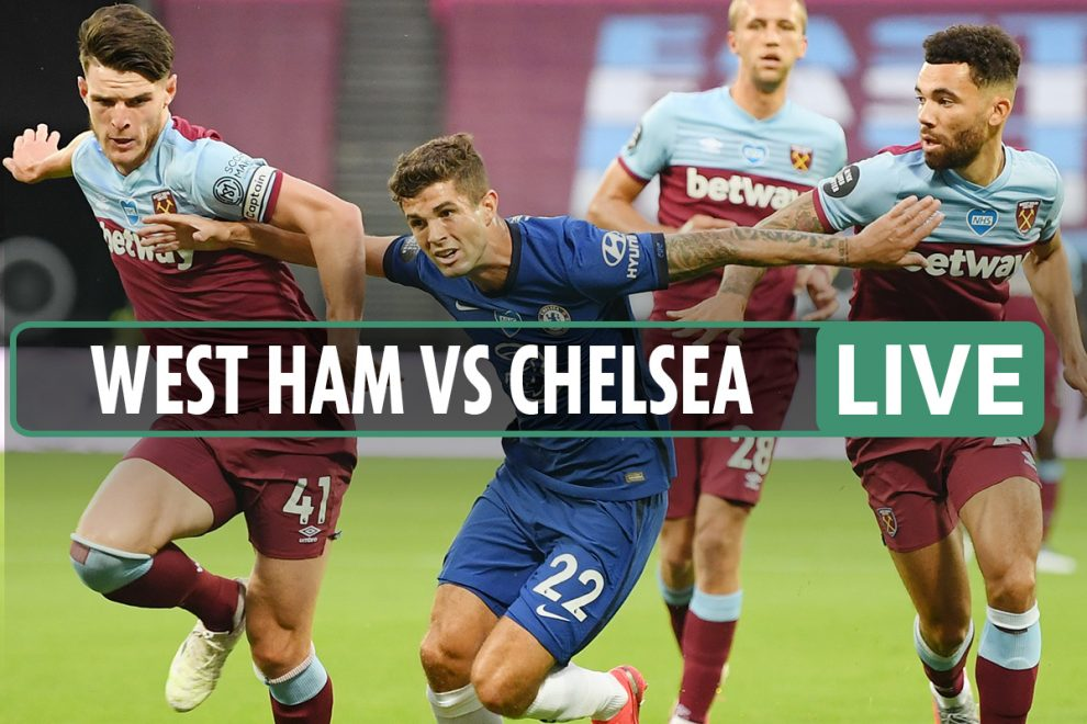 West Ham vs Chelsea LIVE SCORE: Willian opener after Hammers fume at VAR – stream, TV, Premier League latest updates