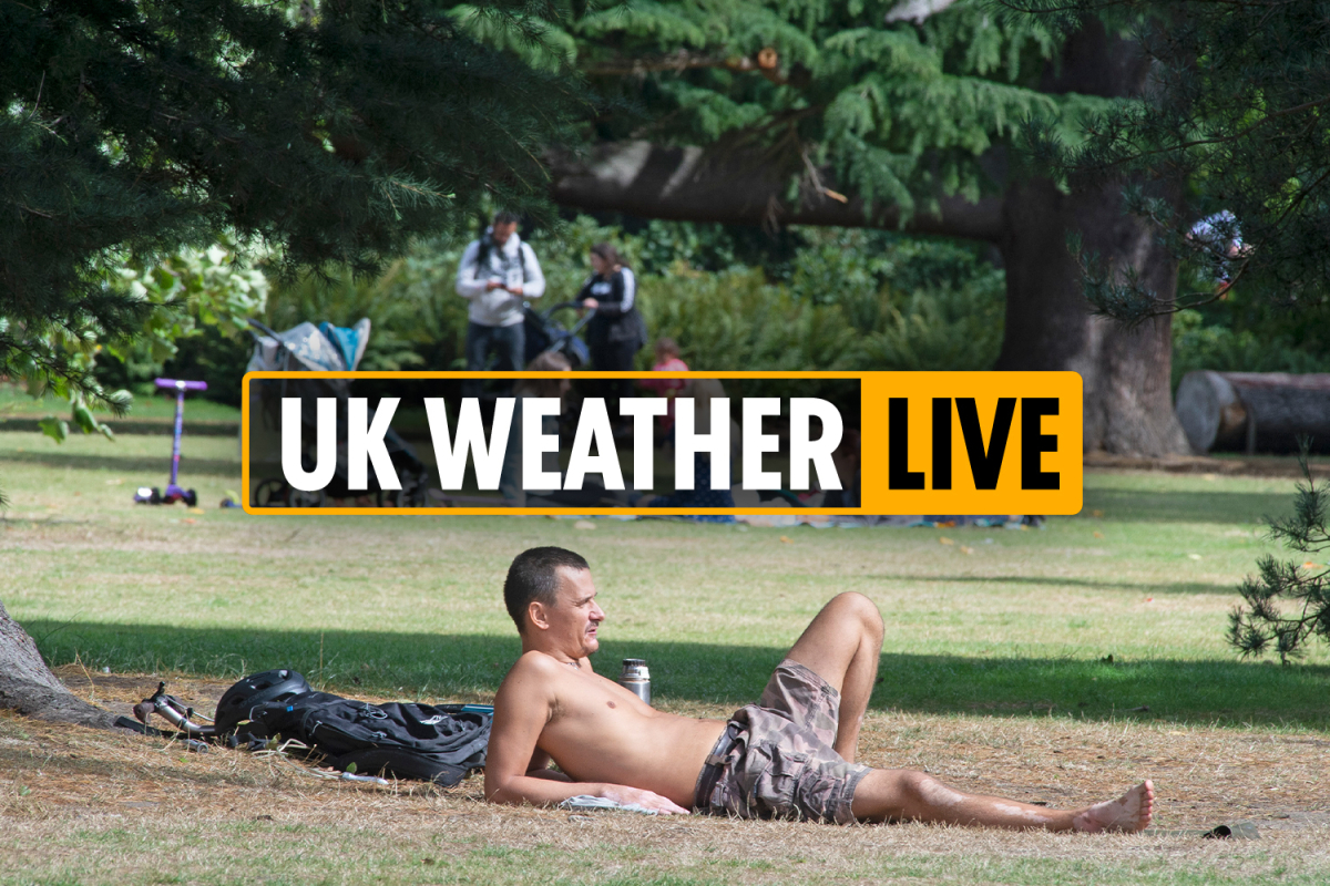 00.30 UK weather news LIVE: Bank Holiday Monday to see 'coldest EVER max temps' ahead of record September heat – LATEST