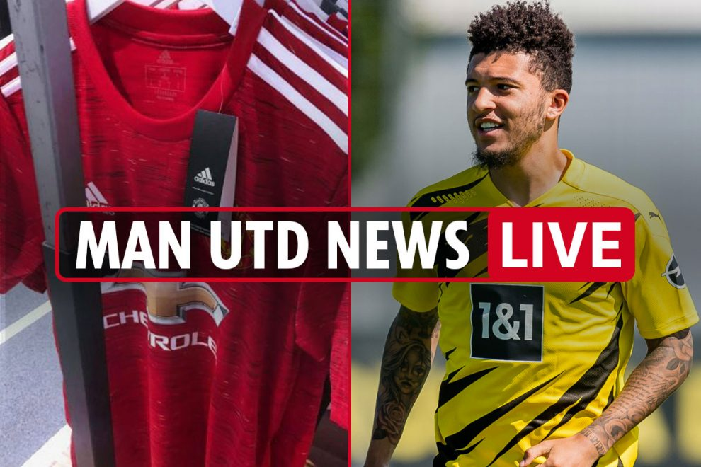 11pm Man Utd transfer news LIVE: Jadon Sancho 'joins Red Devils Whatsapp group', Paul Pogba LATEST, new Henderson deal