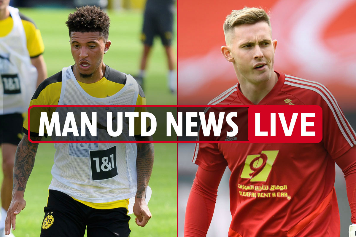 12pm Man Utd transfer news LIVE: Jadon Sancho AGREES to contract but United won't pay £108m, Dean Henderson EXCLUSIVE