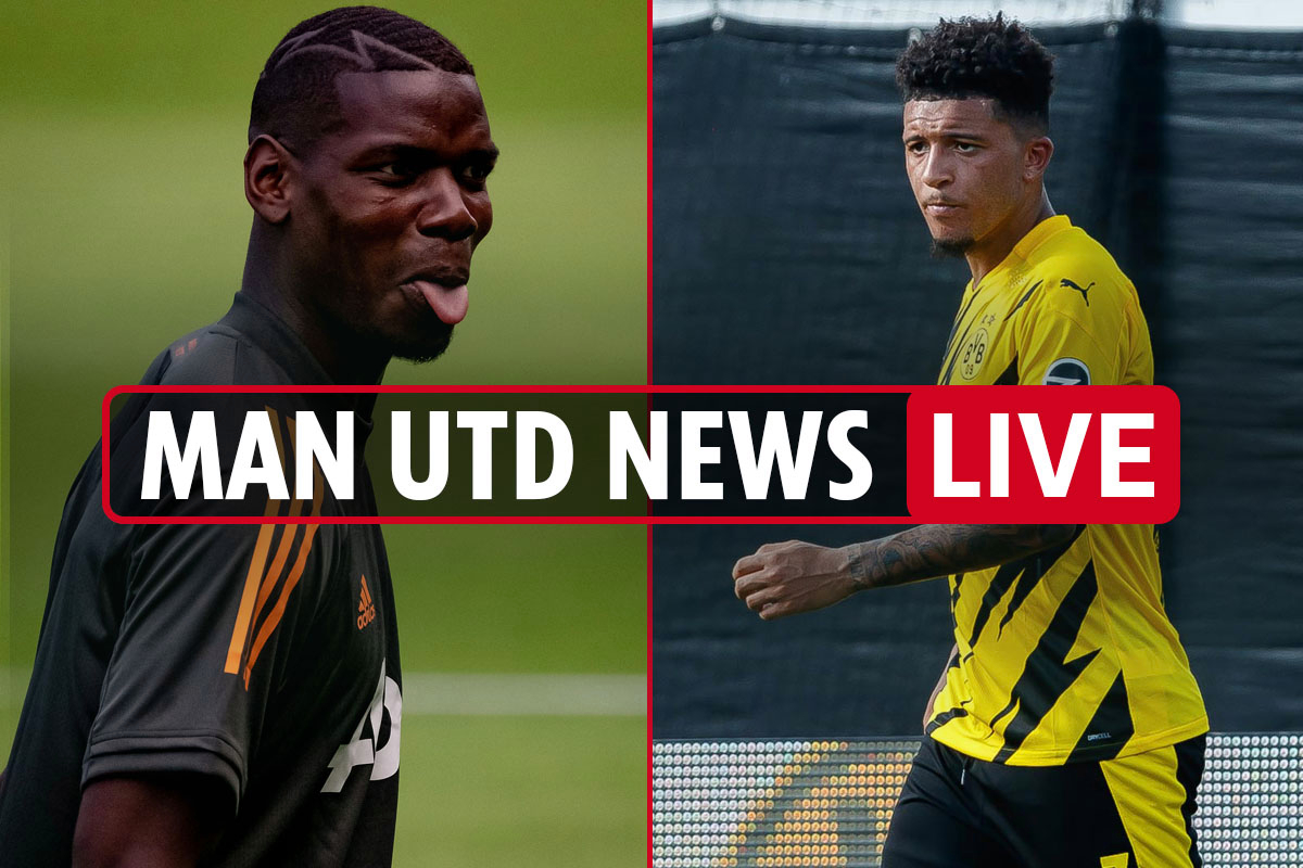 12pm Man Utd transfer news LIVE: Pogba 'contract talks after Europa League', Jadon Sancho NOT leaving – Dortmund CEO