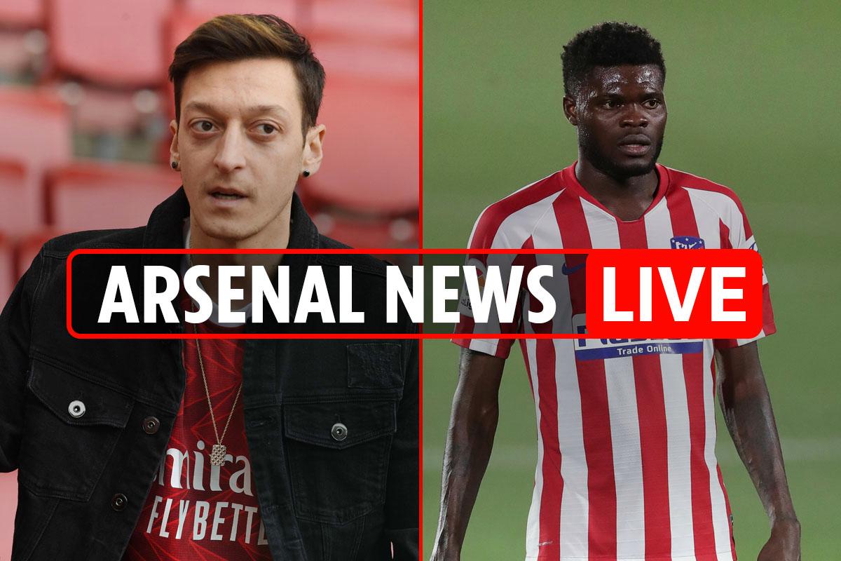 8.15am Arsenal transfer news LIVE: Ozil offered 'severance' deal, Partey swap for Lacazette, Bellerin or Torreira