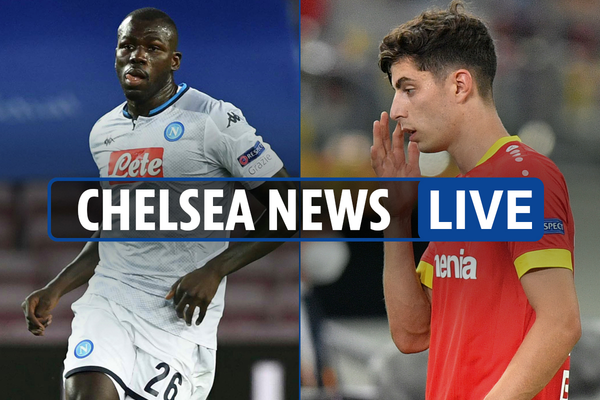 9am Chelsea transfer news LIVE: Brighton away first day, Koulibaly agent talks, Kai Havertz deal 'will be done'