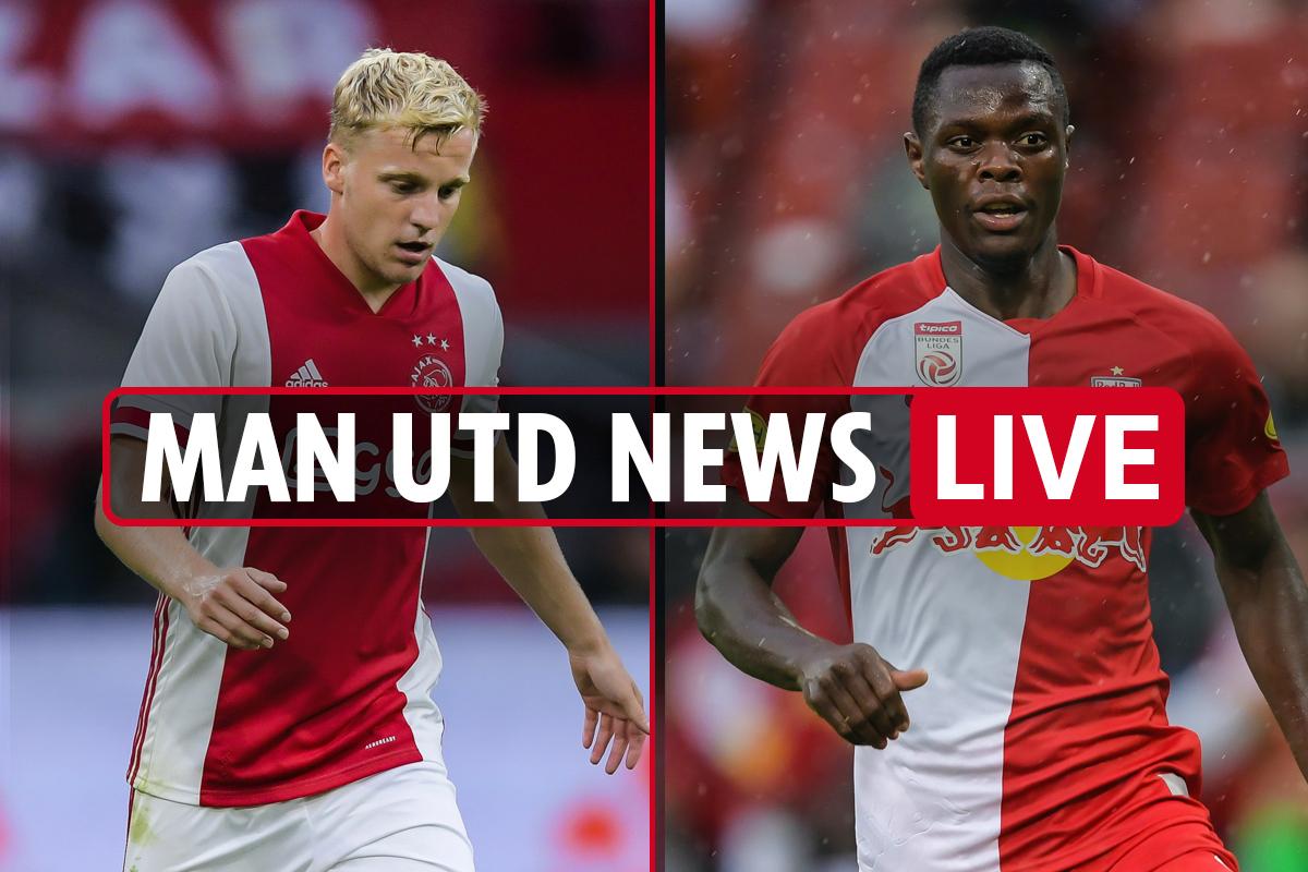 9pm Man Utd transfer news LIVE: Van de Beek £40m deal 'AGREED', Thiago £27m interest, Daka eyed, Sancho LATEST