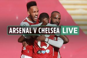 Arsenal vs Chelsea – FA Cup final 2020 LIVE: Score as Aubameyang levels with penalty and Azpilicueta limps off in tears