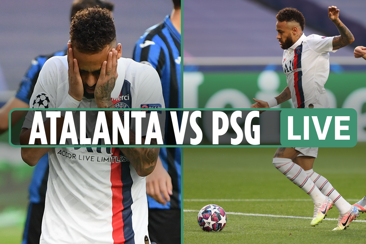 Atalanta vs PSG LIVE: Stream free, TV channel and teams for Champions League – Neymar misses sitter with Mbappe on bench
