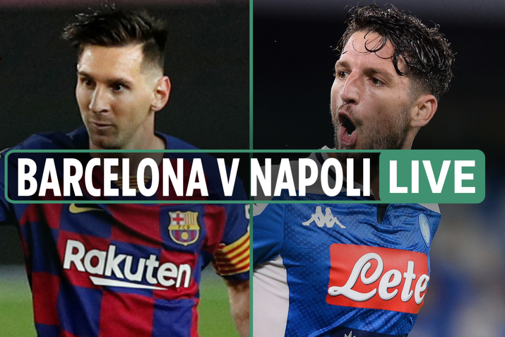 Barcelona vs Napoli LIVE: Stream FREE, TV channel, kick-off time, team news for Champions League match