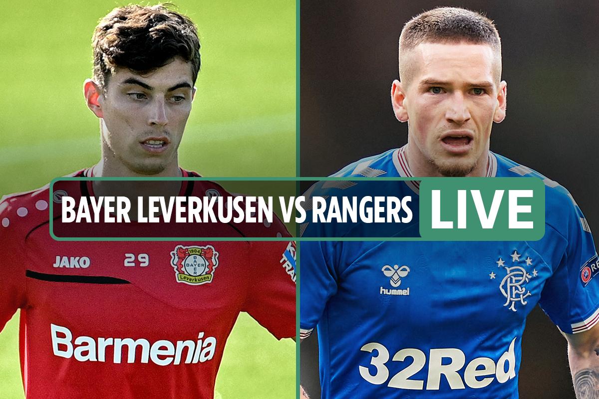 Bayer Leverkusen vs Rangers LIVE SCORE: Stream free, TV channel – Europa League latest as Havertz hits bar