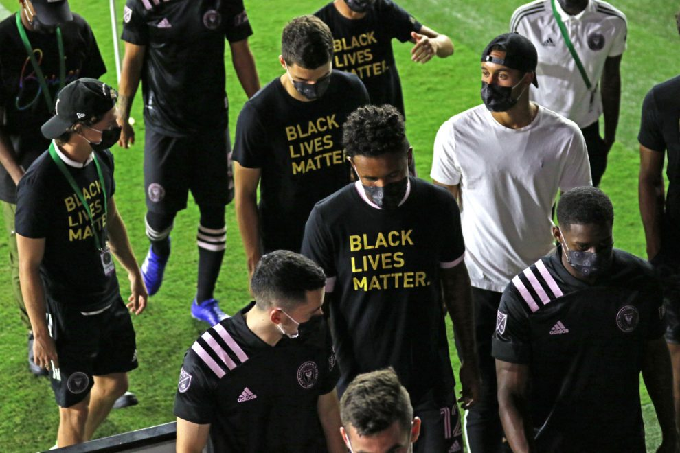 Beckham's Inter Miami walk off before MLS game with Atlanta to join NBA in boycotting matches over Jacob Blake shooting