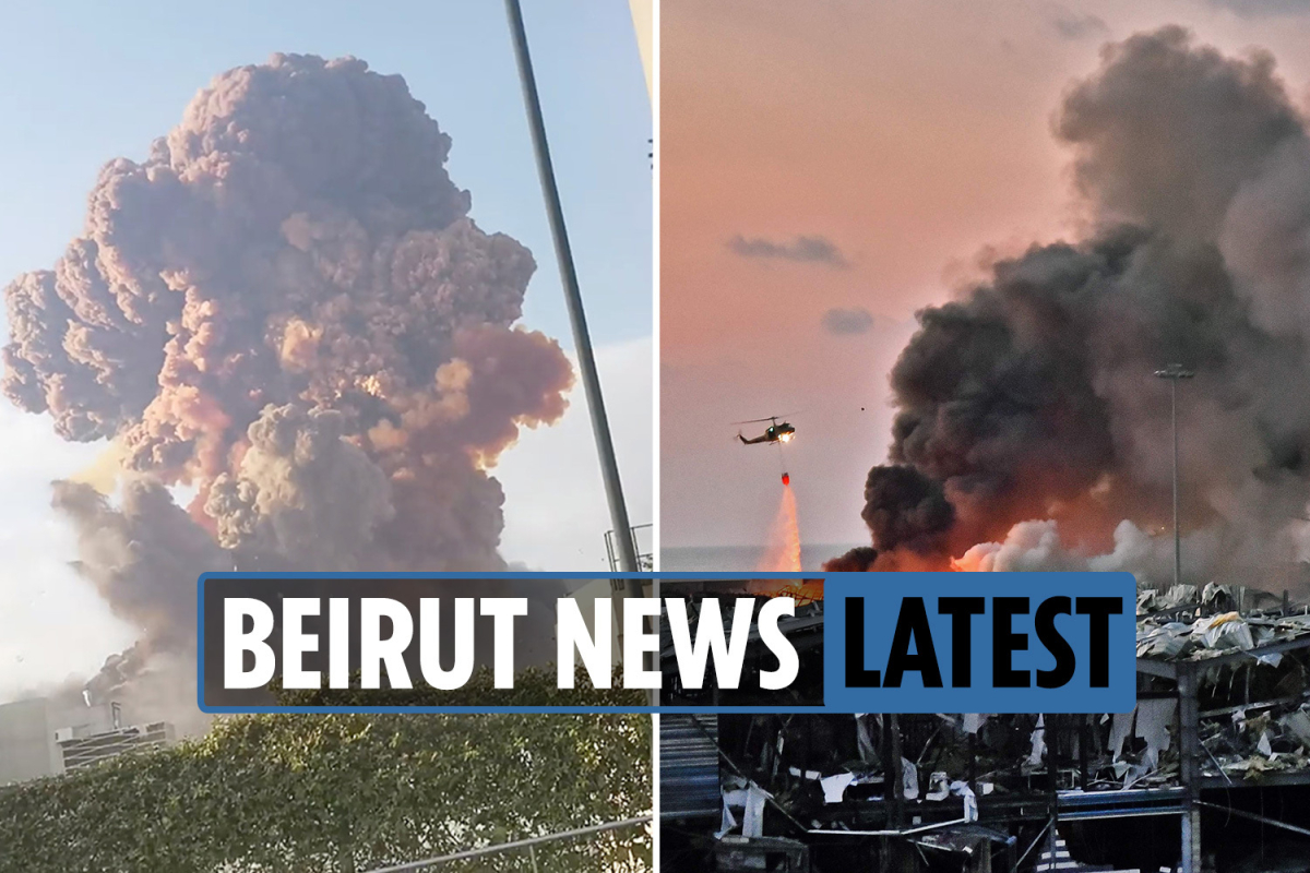 Beirut explosion news LIVE: At least 78 dead after huge blast in Lebanon's capital – latest updates