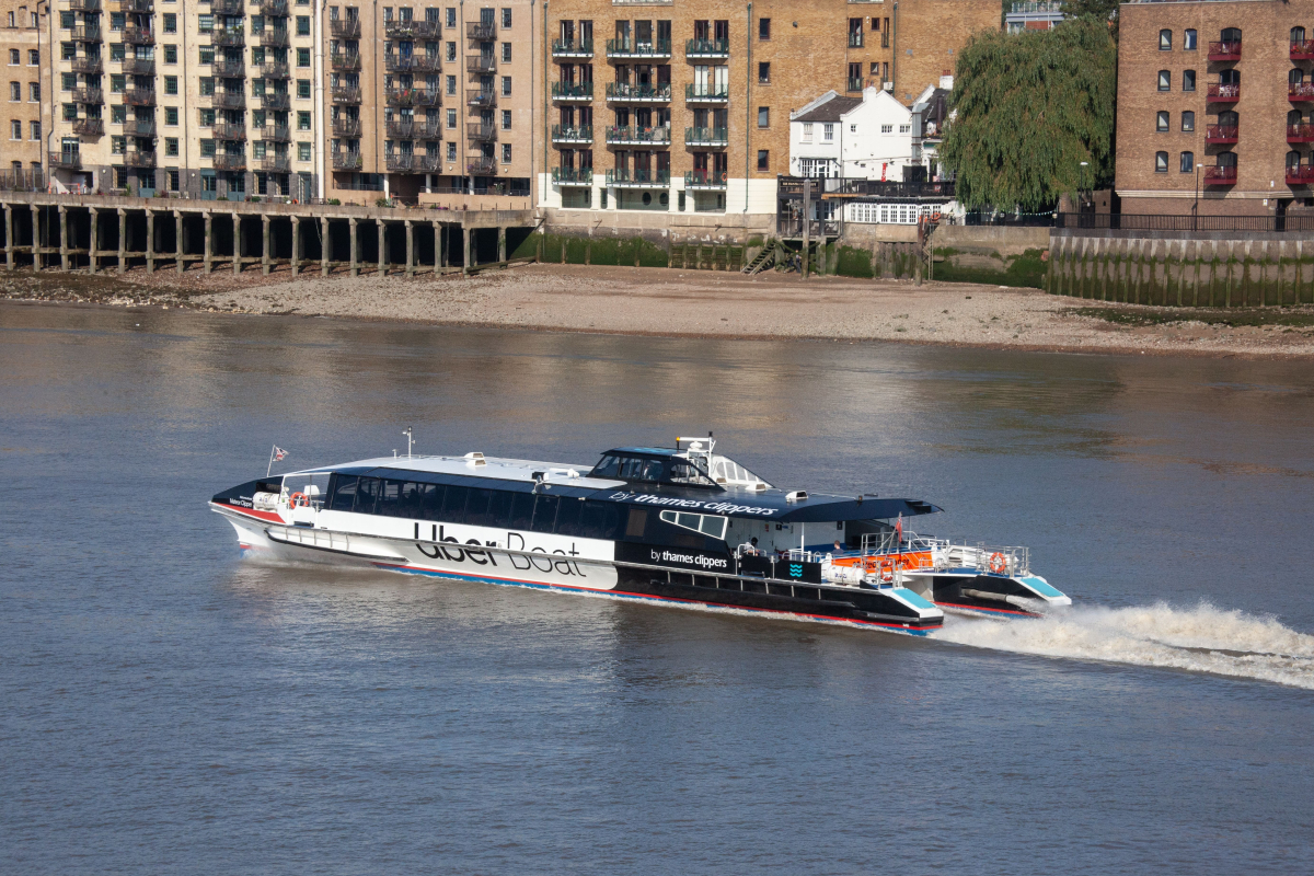 Brazen thief steals Thames Clipper river bus and leads specialist marine cops on dramatic chase