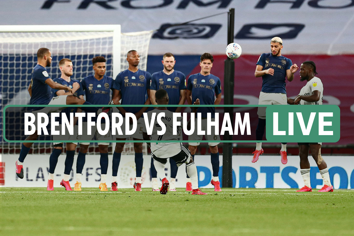 Brentford vs Fulham LIVE: Extra time in Championship play-off final – Score, stream and Wembley latest updates