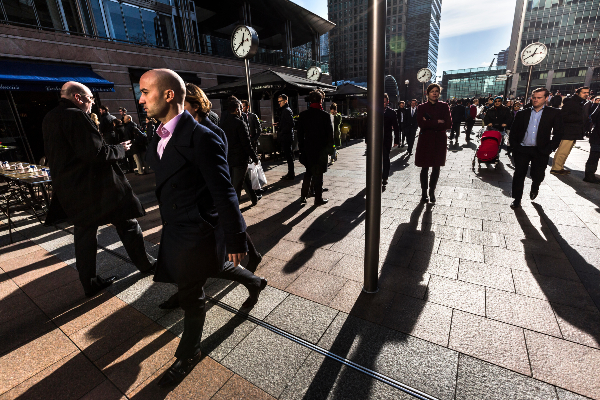 Britain's 50 biggest firms are sticking with working from home for the time being