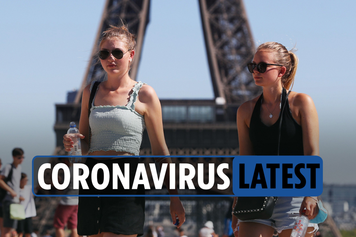 Coronavirus LIVE: France quarantine rules begin today as UK cities could face more local lockdowns