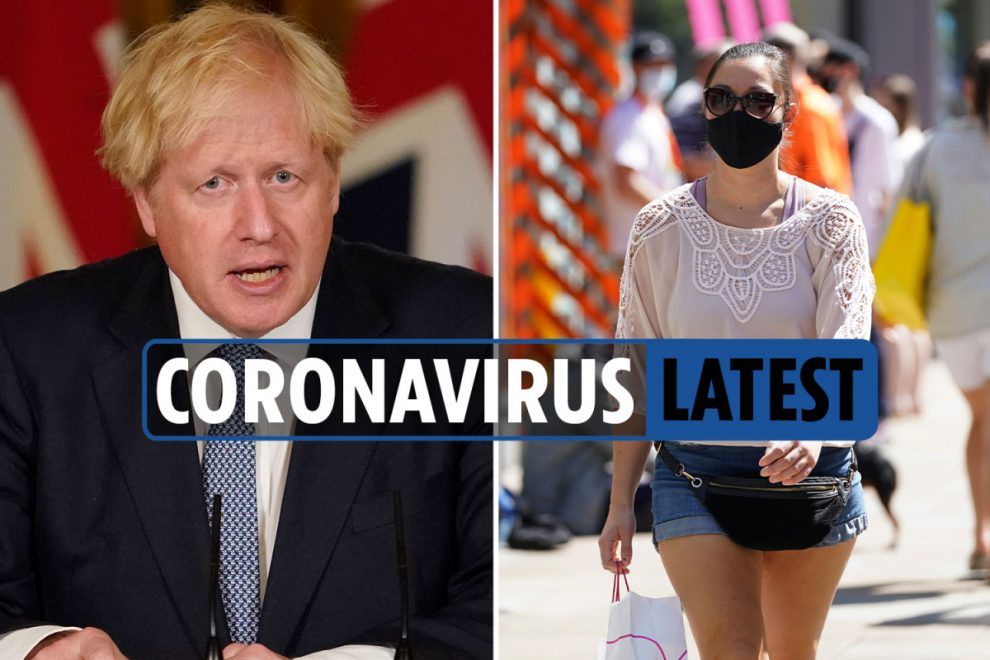Coronavirus UK LIVE: Shielding paused as Boris Johnson announces face mask crackdown and deaths hit 46,193