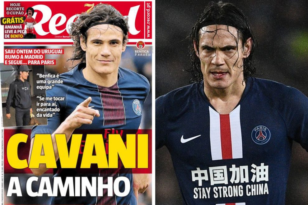 Edinson Cavani breaks silence on his future and confirms Benfica transfer talks.. but leaves door open to Leeds move