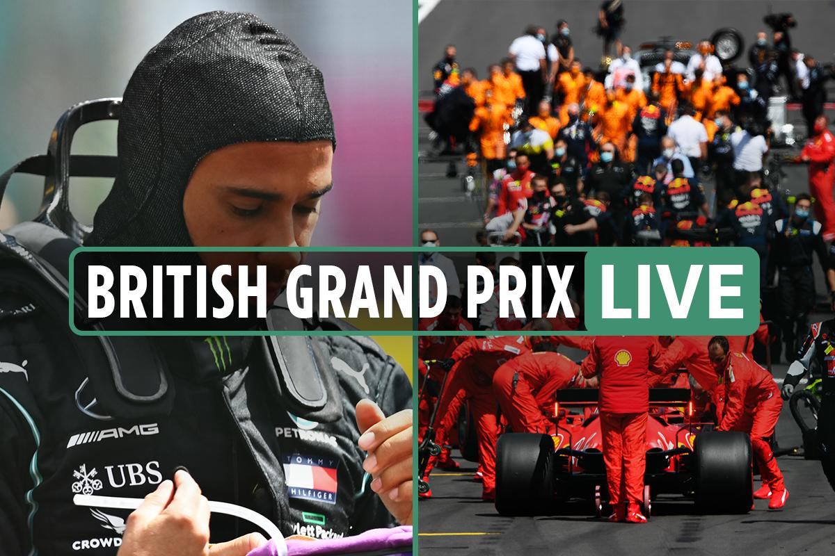 F1 British Grand Prix 2020 LIVE: Hamilton leads Bottas, Verstappen passes Leclerc, Hulkenberg OUT – latest race updates
