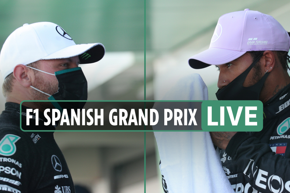 F1 Spanish Grand Prix 2020 race LIVE: Hamilton battling Verstappen for first, Bottas third – latest updates