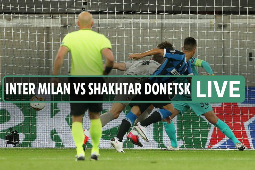 Inter vs Shakhtar LIVE SCORE: Martinez puts Italians into lead – stream FREE, TV info, Europa League latest updates