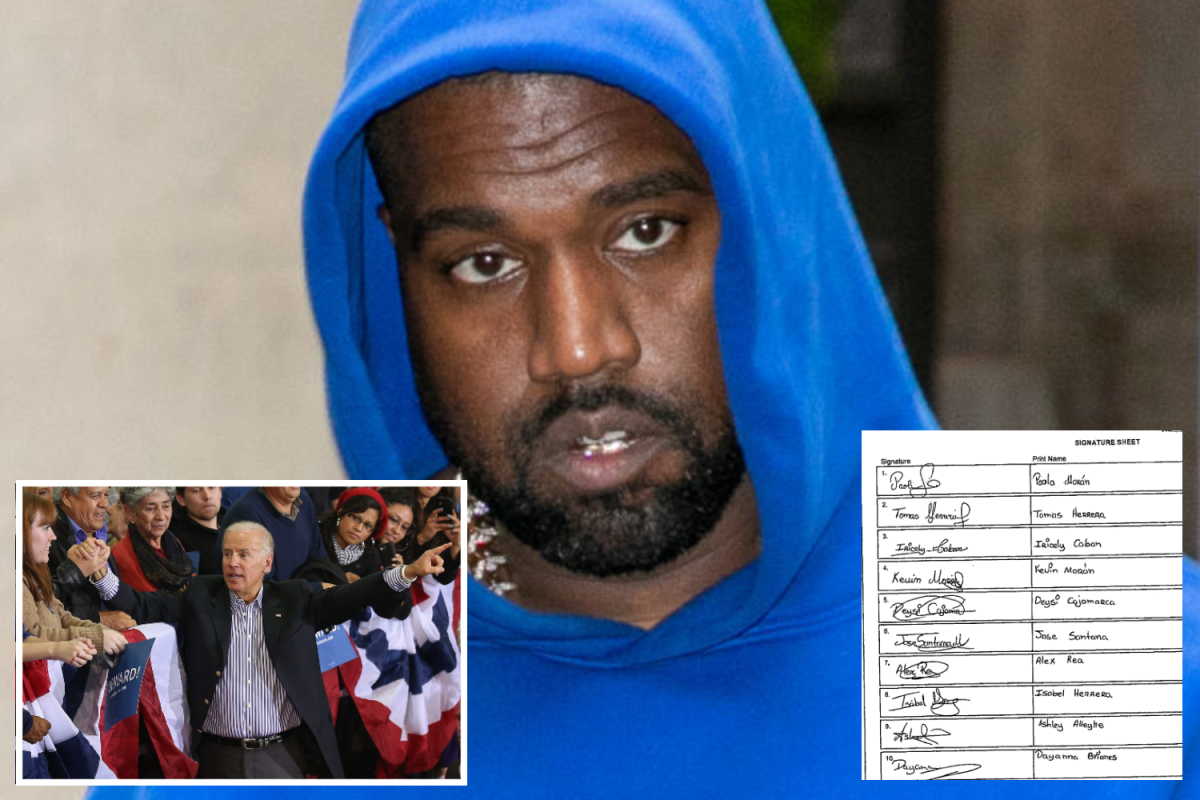 Kanye West accuses Democratic Party of SPYING on his campaign amid 'fake signature' fight