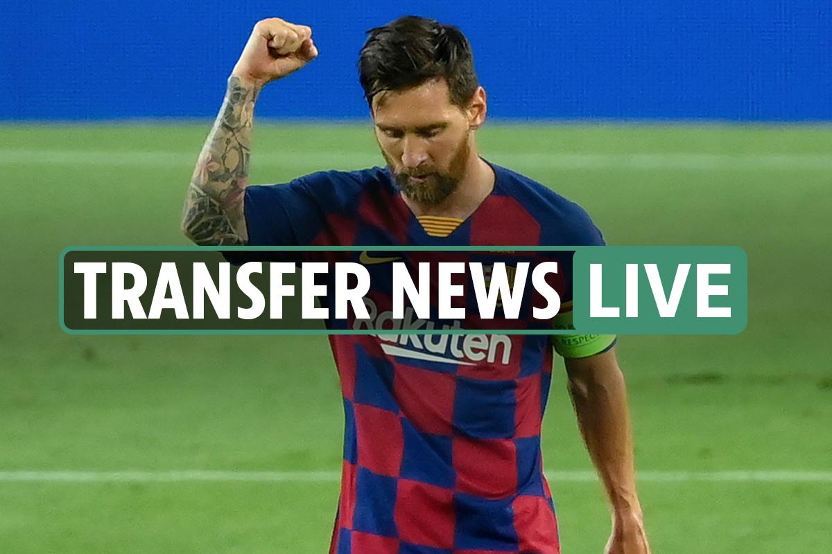 Lionel Messi transfer news LIVE: Rooney speaks on move, 'Messi's dad in Manchester', Man City 'to offer £134m'